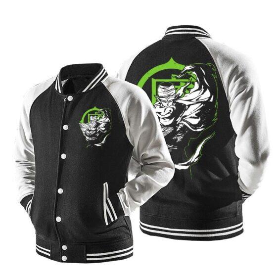 Dragon Ball Cool Super Namek Piccolo Baseball Varsity Jacket