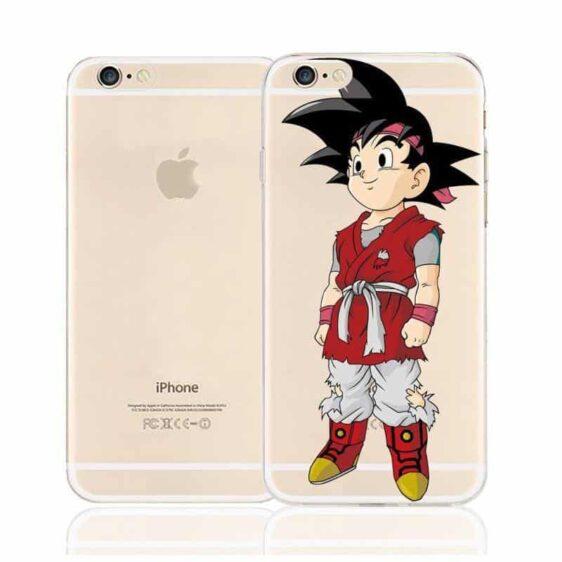 Dragon Ball Cute Goku Jr. Saiyan Character Back Cover for iPhone 6 6s Plus