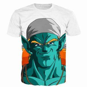 Dragon Ball Dope Handsome Piccolo Green Man T-Shirt - Saiyan Stuff