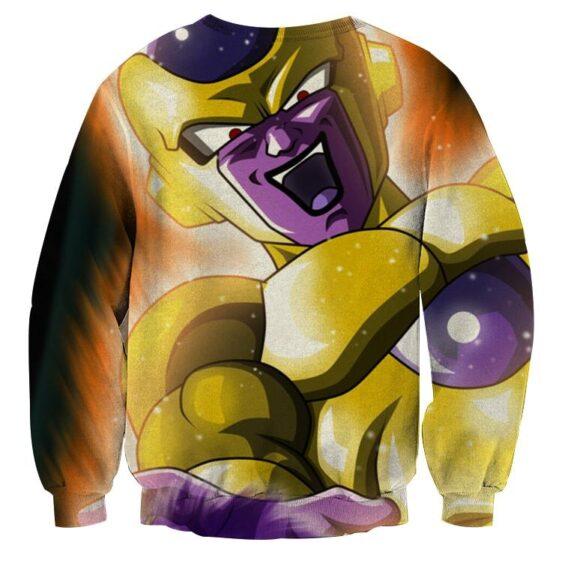 Dragon Ball Frieza True Golden Energy Blast Dope Sweatshirt