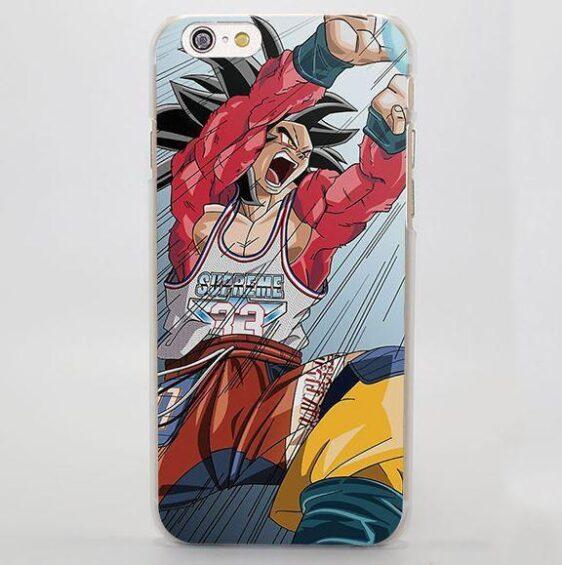 Dragon Ball GT Goku SSJ4 Kamehameha iPhone 4 5 6 7 Plus Case