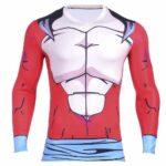 Dragon Ball GT SSJ4 Goku Super Saiyan 3D Fitness Long Sleeves T-shirt