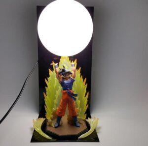 Dragon Ball Genki Dama Spirit Bomb Goku Bedside Lamp - Saiyan Stuff