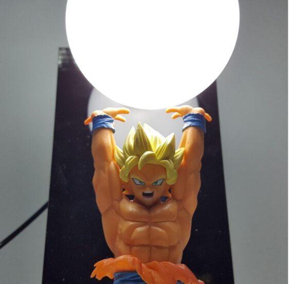Dragon Ball Genki Dama Spirit Bomb Super Saiyan Son Goku DIY Lamp - Saiyan Stuff - 2
