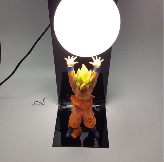 Dragon Ball Genki Dama Spirit Bomb Super Saiyan Son Goku DIY Lamp - Saiyan Stuff