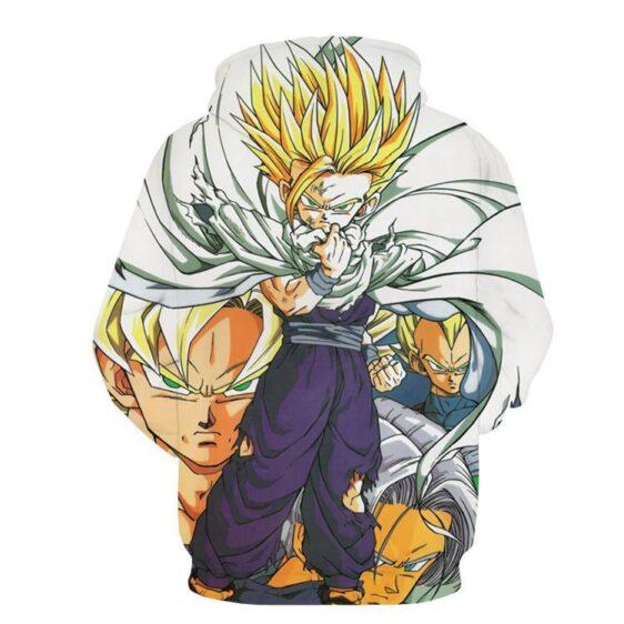 Dragon Ball Gohan Kid Super Saiyan Goku Vegeta Trunks Super Style Hoodie