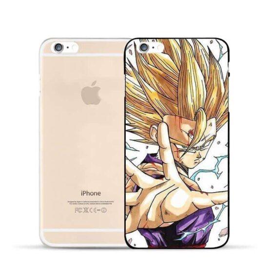 Dragon Ball Gohan Super Saiyan Kid Thunder Power Cool Design Hard PC iPhone 5 6 7 s Plus Case