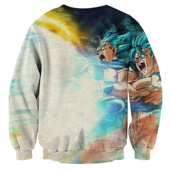 Dragon Ball Goku 2 Vegeta 2 Super Saiyan Kaioken Epic Sweater