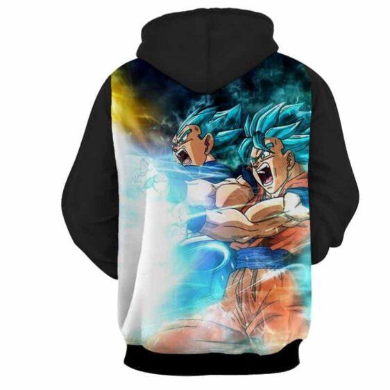 Dragon Ball Goku 2 Vegeta 2 Super Saiyan Kaioken Hoodie