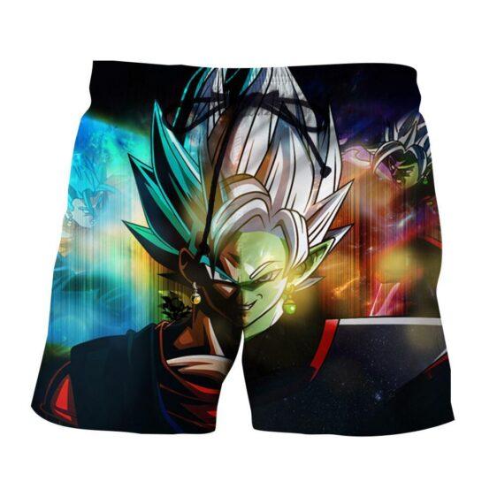 Dragon Ball Goku Black Fusion Zamasu Evil Villain Graphic Summer Shorts