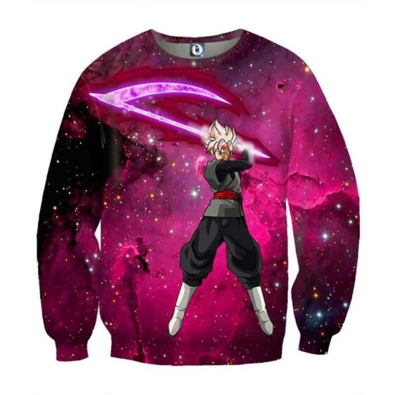 Dragon Ball Goku Black Zamasu Super Saiyan Rose Villain Theme Sweatshirt