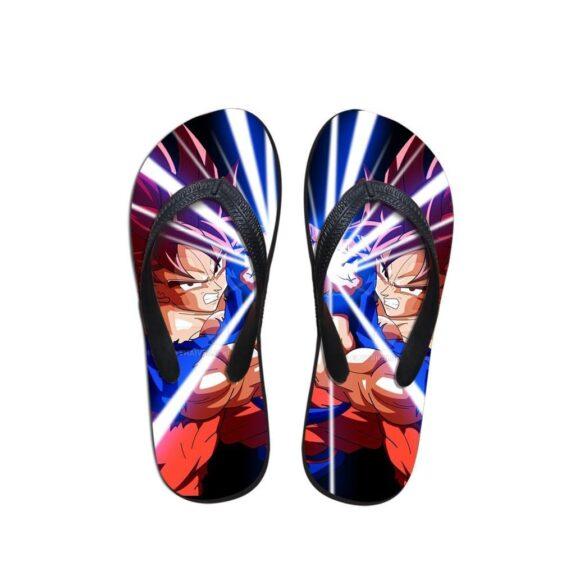 Dragon Ball Goku Kamehameha Skill Summer Sandals Flip Flops Shoes