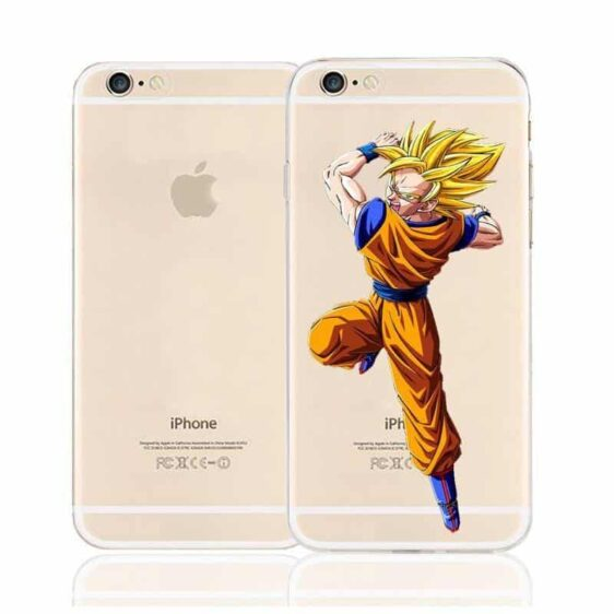 Dragon Ball Goku Super Saiyan Character Back Cover for iPhone 6 6s Plus