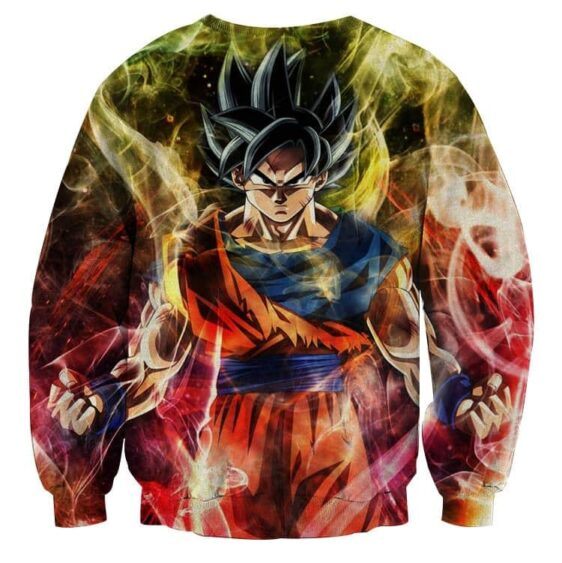 Dragon Ball Goku Super Saiyan God Ultra Instinct Sweatshirt