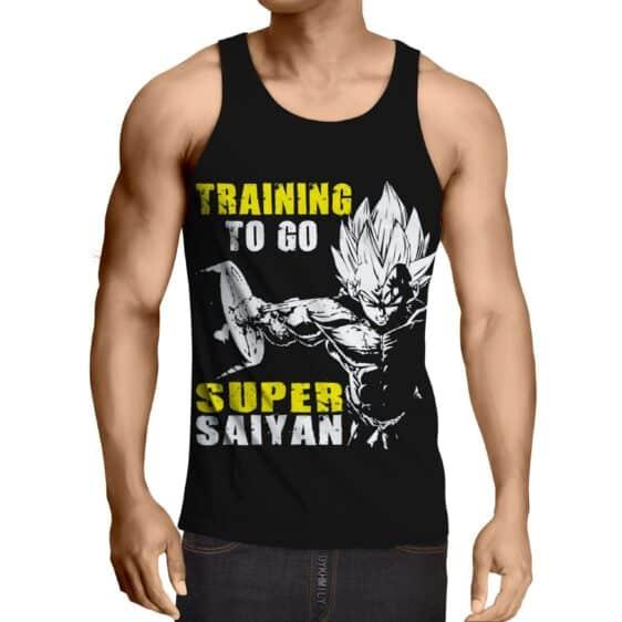 Dragon Ball Goku Super Saiyan Training Motivation Tank Top