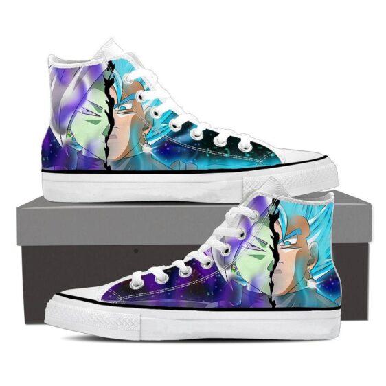 Dragon Ball Goku Zamasu Fusion Serious Cool Sneaker Shoes