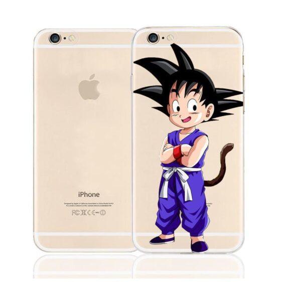 Dragon Ball Kid Goku Cute Saiyan Character Back Cover for iPhone 6 6s Plus