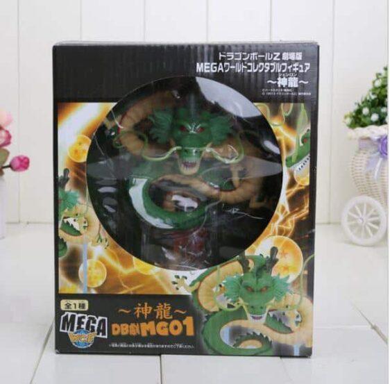Dragon Ball Green & Golden Shenron 7 Crystal Balls Shelf Figure Set - Saiyan Stuff