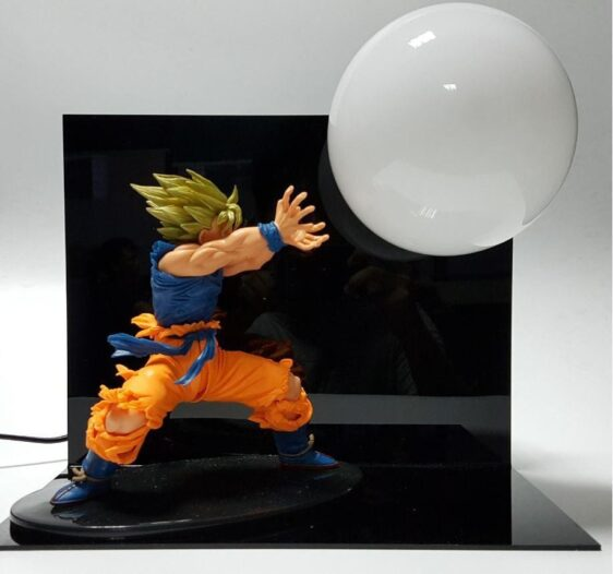 Dragon Ball Kamehameha Attack Super Saiyan Son Goku DIY Display Lamp - Saiyan Stuff - 3