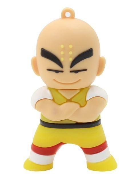 Dragon Ball Krillin Yellow Cute USB Flash Drive 4GB 8GB 16GB 32GB 64GB - Saiyan Stuff