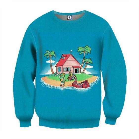Dragon Ball Legend Master Roshi House Funny Theme Sweatshirt