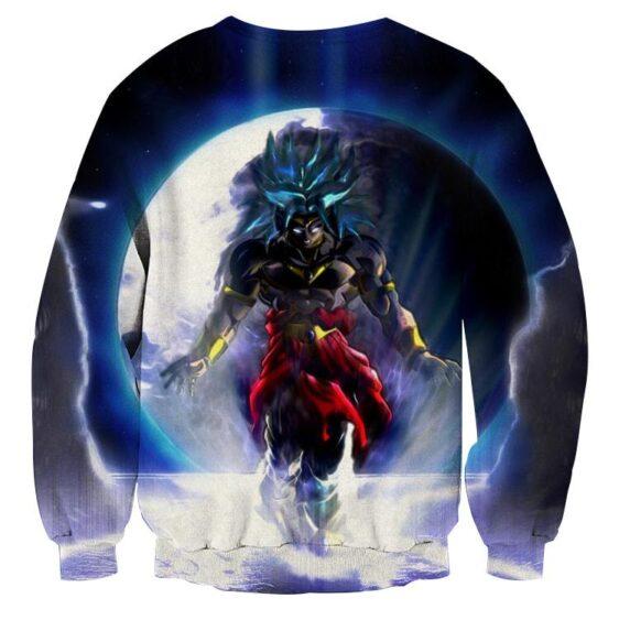 Dragon Ball Legendary Saiyan Broly Cool Blue Moon Sweatshirt