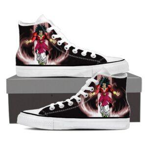 Dragon Ball Legendary Super Saiyan Broly 4 Dope Sneaker Shoes