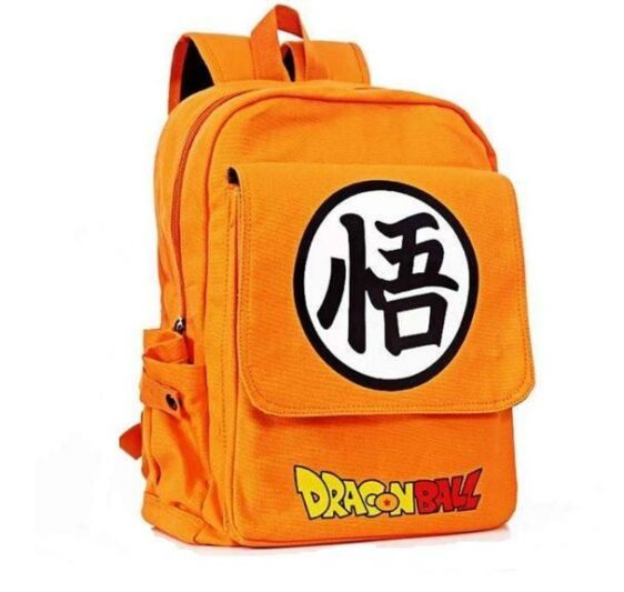 Dragon Ball Orange Shoulder School Bag Backpack - Saiyan Stuff