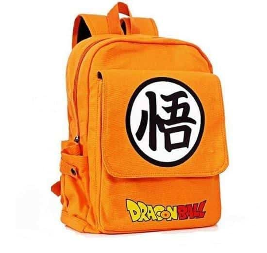 Dragon Ball Orange Shoulder School Bag Backpack