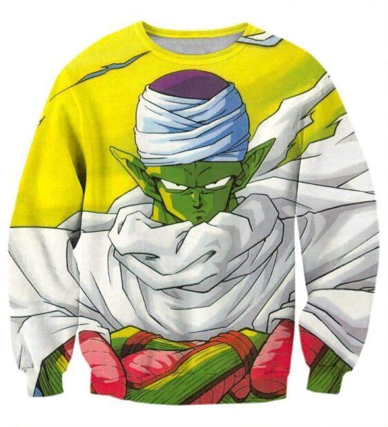 Dragon Ball Piccolo Namekian Evil King Cape Cool Design Streetwear Sweatshirt