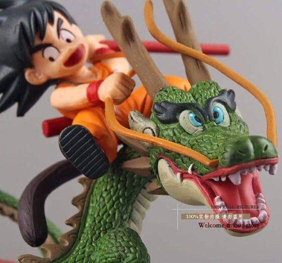 Dragon Ball Son Goku & Shenron Dragon Riding Action Figure 14cm - Saiyan Stuff