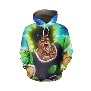 Dragon Ball Super Angry Broly Legendary Super Saiyan Hoodie