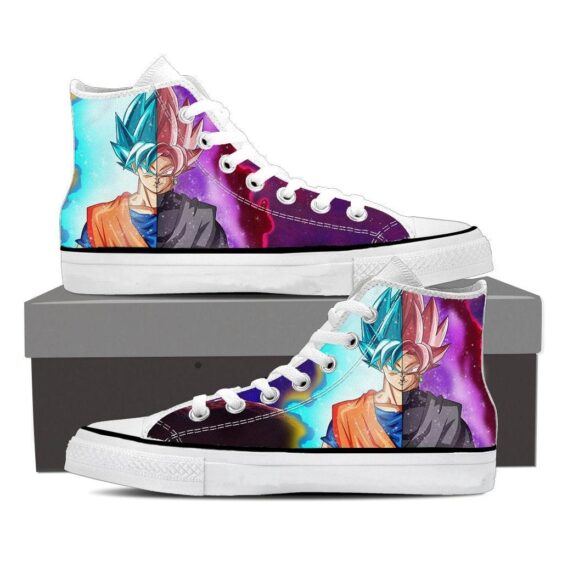 Dragon Ball Super Black Goku Rose Vegito 2 Cool Sneaker Shoes