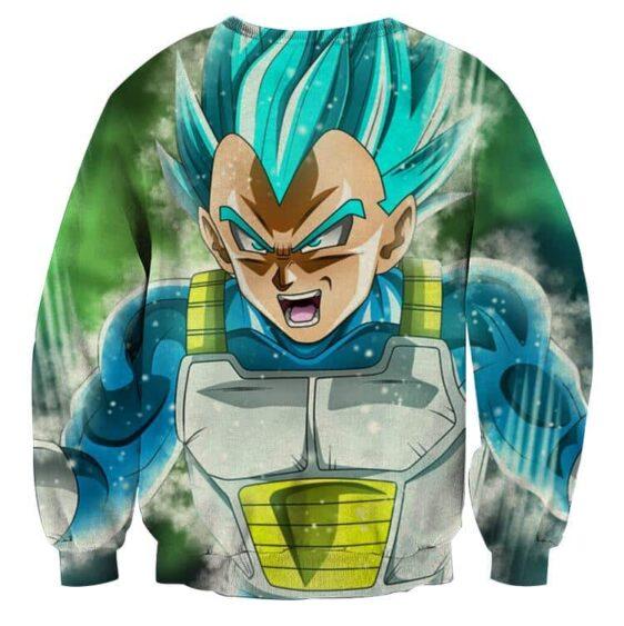 Dragon Ball Super Blue Vegeta Super Saiyan God Sweatshirt