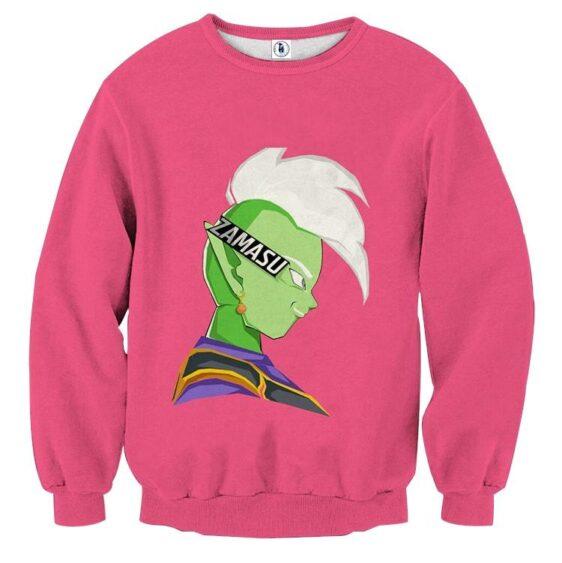Dragon Ball Super Cool Grin Zamasu Potara Earring Sweatshirt