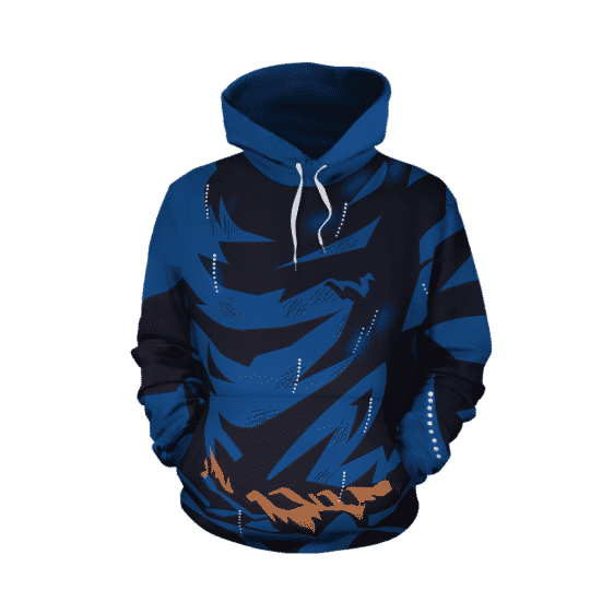 Dragon Ball Super Epic Son Goku Bruised Outfit Cosplay Hoodie