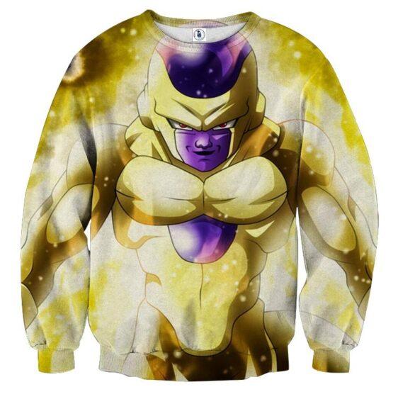 Dragon Ball Super Frieza True Golden Kaioken Cool Sweatshirt
