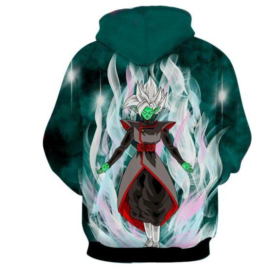 Dragon Ball Super Fused Zamasu Dope White Mighty Aura Hoodie