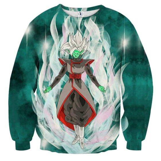 Dragon Ball Super Fused Zamasu Dope White Mighty Sweatshirt