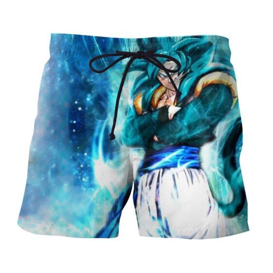 Dragon Ball Super Gogeta 4 Blue Super Saiyan Kaioken Epic Boardshorts