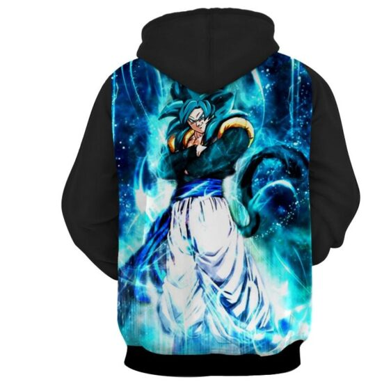 Dragon Ball Super Gogeta 4 Blue Super Saiyan Kaioken Hoodie