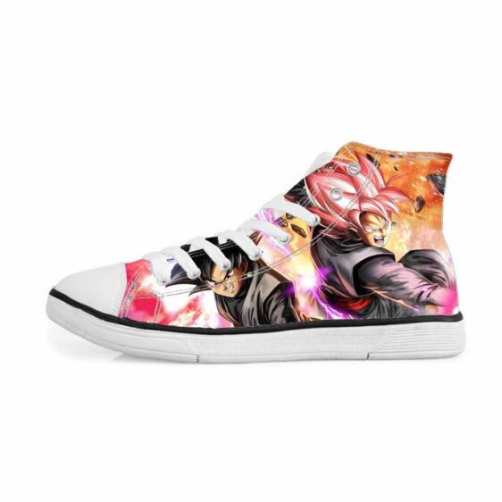 Dragon Ball Super Goku Black Villain Stylish Sneakers Converse Shoes