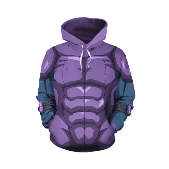 Dragon Ball Super Hit Dope Muscular Build Cosplay Hoodie