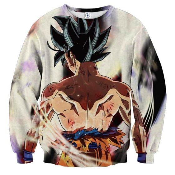 Dragon Ball Super Legendary Goku Bruised Back Epic Sweatshirt