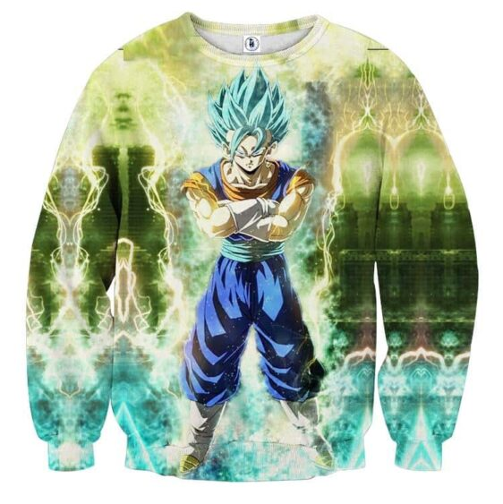 Dragon Ball Super Pissed Vegito Blue Kaioken Epic Sweatshirt