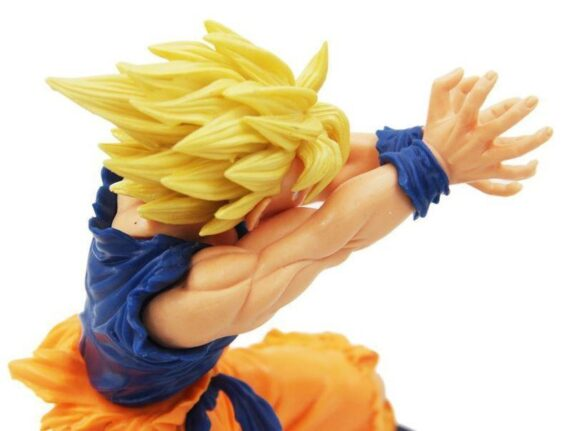 Dragon Ball Super Saiyan Son Goku Kamehameha Action Figure 17cm - Saiyan Stuff