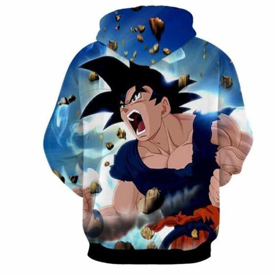Dragon Ball Super Son Goku Epic Charging Kaioken Hoodie