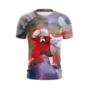 Dragon Ball Super The Fearless Toppo In Bloodlust T-Shirt