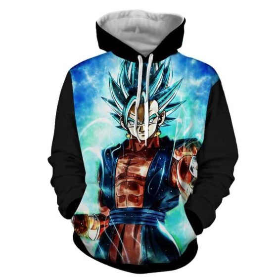 Dragon Ball Super Vegito 2 Blue Super Saiyan Kaioken Cool Hoodie