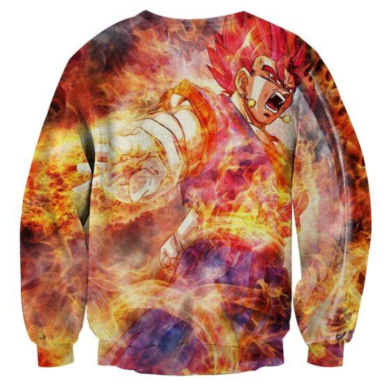 Dragon Ball Super Vegito 2 Red Super Saiyan Kaioken Sweater